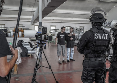 kravmaga film shooting